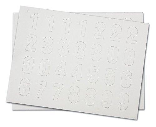 Magnetic Number Kit, 0 Thru 9, PK112 by Brady
