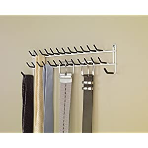 ClosetMaid 8051 Tie Belt Rack, White