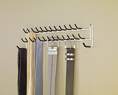 Closetmaid 8051 Tie And Belt Rack White Buy Online In
