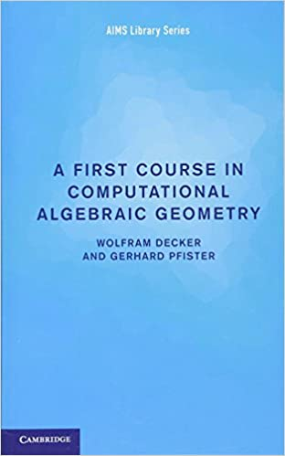 Computational algebraic geometry