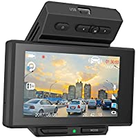 Lumina 1080p 170 Degree Wide Angle Dash Cam Recorder Car Dashboard Camera with G-Sensor, Loop Recording