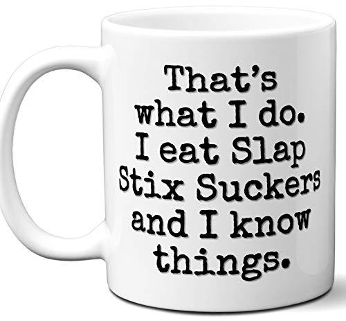 Slap Stix - Slap Stix Suckers Gift Lover Coffee Mug.