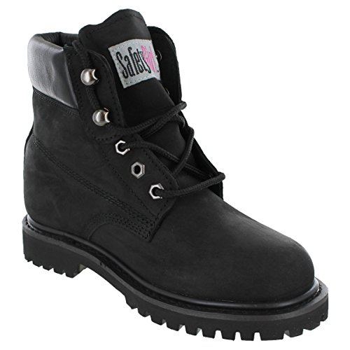 Safety+Girl+II+Soft+Toe+Waterproof+Womens+Work+Boots+-+Black+%287M%29
