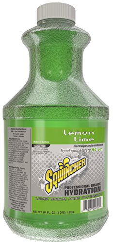 Sqwincher Liquid Concentrate Electrolyte Replacement, 5 Gallon Yield, Lemon Lime 030328-LL (Pack of 6)