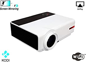 1080P Video Proyector WiFi Android Full HD Proyector 5000 Lumen 10000:1 Cine en casa Proyector Android TV HDMI LCD LED proyector Cine en casa HD ...