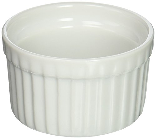 Ramekins Bia (Bia Cordon Bleu 900002 White Porcelain Ramekin, 3 oz, White)