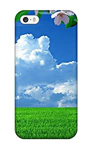 [DNDBy5972PHcAo]premium Phone Case For Iphone 5/5s/ Landscape Spring Tpu Case Cover