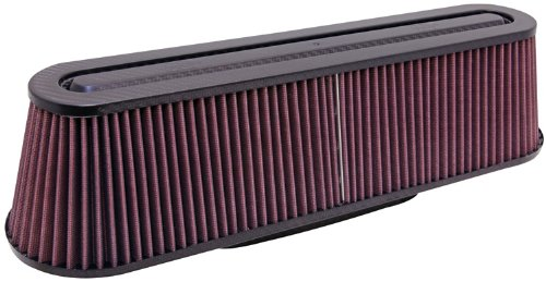 K&N RP-5161 Universal Carbon Fiber Top Round Tapered Air Filter