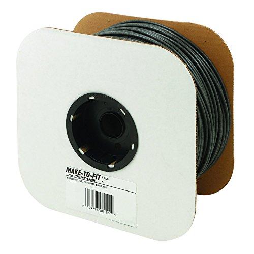 Prime-Line Products P 8125 Screen Retainer Spline, .160-in, Foam, Black, 500-ft
