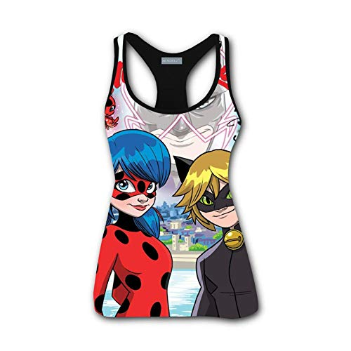 WUijhTank Hero Ladybug and Noir 3D Printed Women