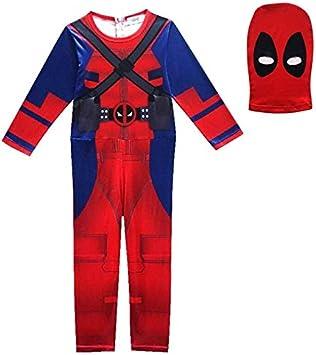 GJBXP Deadpool Disfraz Niños Fantasma Demonio Cosplay Disfraz de ...