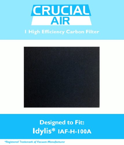 Crucial Air 1 Idylis a Carbon Filter, Fits Idylis Air Purifiers IAP-10-100, IAP-10-150, Model No.IAF-H-100A and 302656