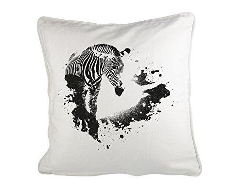GD-designs - Cojín Zebra con de Manchas de Colores Cojín ...
