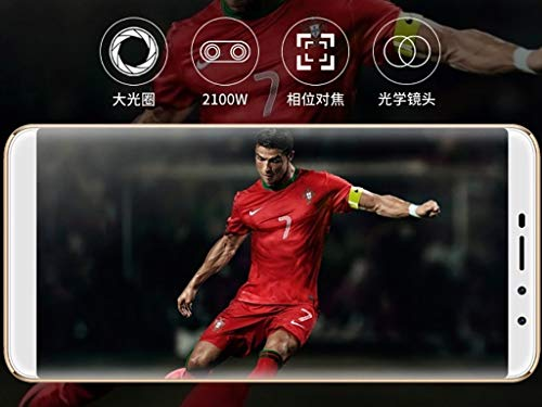 Mobiles 4G Network Ultra-Thin Full-Screen HD Android Smartphone Game 6G Storage +128G Memory (Color : D) by Madsse (Image #6)