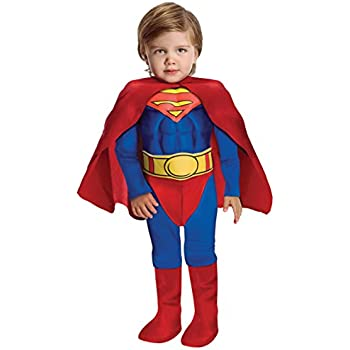 Super DC Heroes Deluxe Muscle Chest Superman Costume Toddler  sc 1 st  Amazon.com & Amazon.com: Super DC Heroes Deluxe Muscle Chest Superman Costume ...