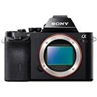 Sony a7R Full-Frame 36.4 MP Interchangeable Digital Lens Camera - Body Only Portable Consumer Electronics Home Gadget (International Model)