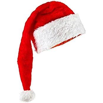 7991a98a0 Amazon.com: D&D Distributing Blinking Santa Hat: Toys & Games
