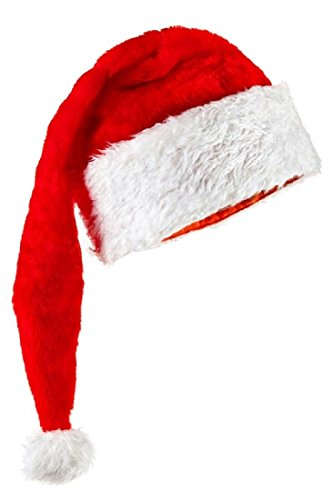 Long Santa (Kids Long Plush Santa Hat - 26 Inches Long by Holiday Hats)