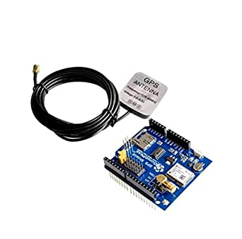 Zamtac - Módulo GPS con ranura para tarjeta SD y antena para ...