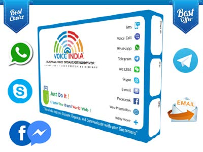 VOICE INDIA ® - SOCIAL+ DONGLE : WHATSAPP, TELEGRAM,SKYPE,EMAIL