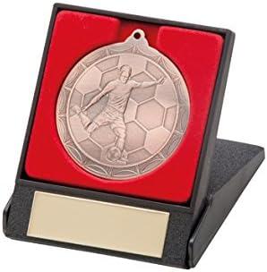 A1 PERSONALISED GIFTS Medallas para jugador de fútbol en caja: Amazon.es: Hogar