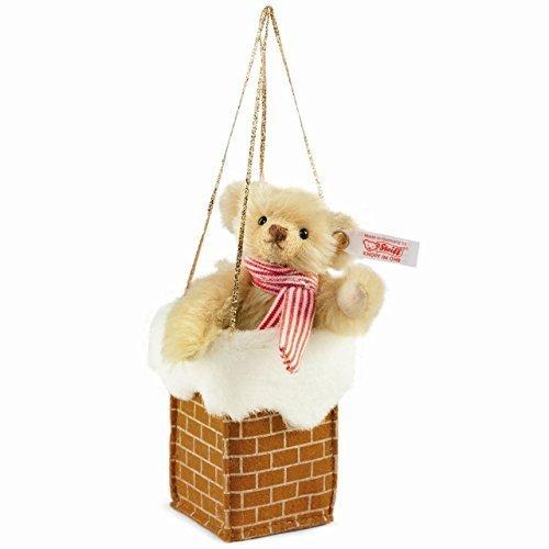 Teddy in Chimney Ornament by Steiff