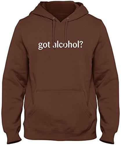 Chocolate Vodka Milk (ShirtLoco Men's Got Alcohol Hoodie Sweatshirt, Chocolate 4XL)