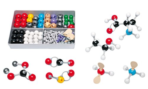 Molymod MMS-009 Inorganic/Organic Chemistry Molecular Model, Student Set (52 atom parts) ()