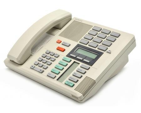 Meridian M7310 Business Office Desk Phone NT8B20 Beige Nortel Norstar