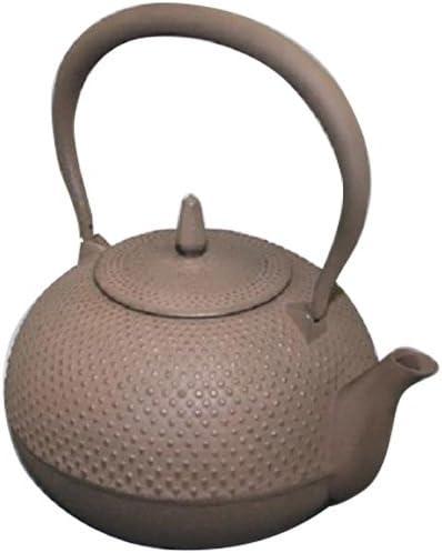 南部鉄瓶 梔子1.2L 茶 4906018116176