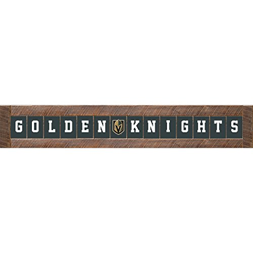 (NHL Vegas Golden Knights Marlin Classic Decorative Sign, 12