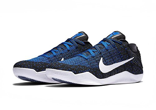 Nike Kobe Xi 11 Elite Low Mark Parker Zwart Wit Blauw Maat 7 Heren Ons