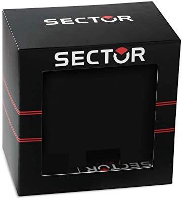 Sector Expander Orologio da Uomo Digitale al Quarzo con Cinturino in Plastica – R3251574004