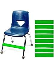 Set med 10 JeVenis naturliga latex stretch fotband stol fidget band träning autism sensoriska behov stretch fotband för stolar av Rehab eller fysisk terapi