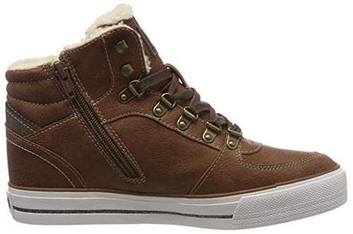 High Braun Femme Baskets Top Hautes 307 Mustang Sneaker Cognac pRdq1WC