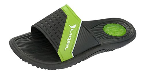 Rider Montana mens slide on pool zehentrenners with cushioned sole. New boxed Black