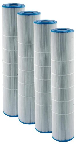 Filbur FC-6410 Antimicrobial Replacement Filter Cartridge for Jandy CL460 Spa Filter, Pack of 4 by Filbur