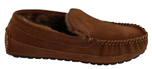 Tamarac Door Slippers Internationale Mens Venetiaans Bekleed Rijden Mocassin Slipper Allespice