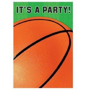 (Basketball Fan Folded Party)