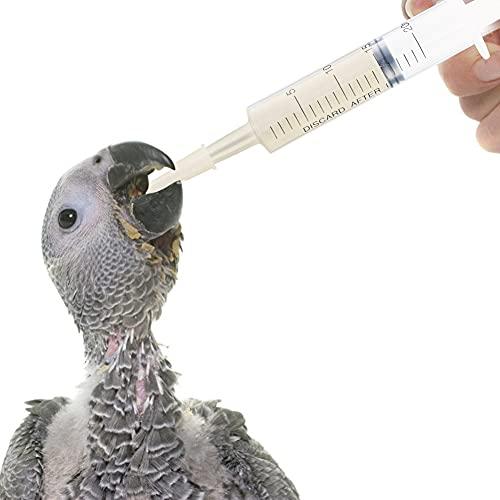 HAKACC Disposable Syringe, 5PCS 20ml Feeding Syringe Sterile Package
