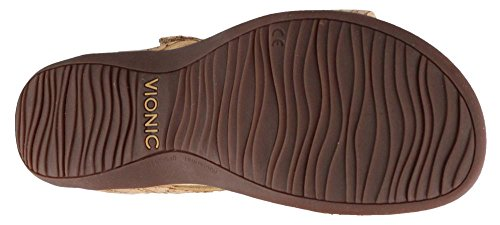Womens Vionic Gold Rest Synthetic Cork Sandals Farra rrqdO1