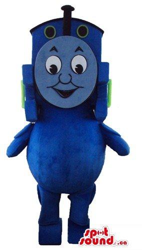 Thomas the Tank Engine cartoon character SpotSound Mascot US costume
