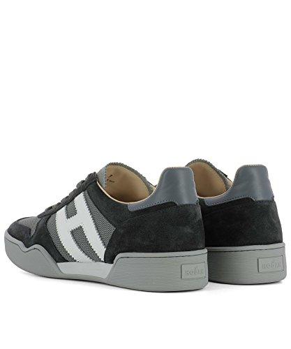 Hogan Sneakers Uomo HXM3570AC40IPJ931F Camoscio Grigio