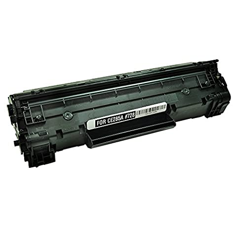TopTech Toners Remanufactured Toner Cartridge Replacement for HP CE285A (HP 85A) -Black (Hp 85a Black Toner)