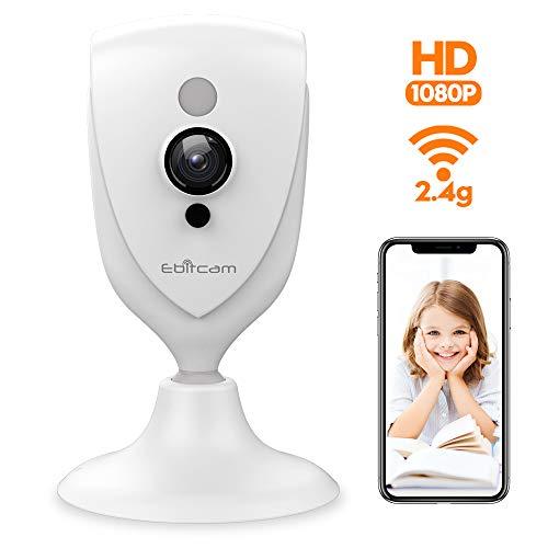 🥇 Mini Camera WiFi – Ebitcam 1080P Indoor Wireless Monitor with Night Vision