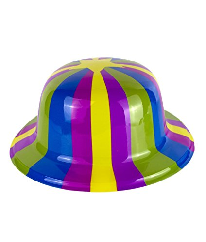 Fun Central AT824 12ct Stripes and Stars Derby Hats