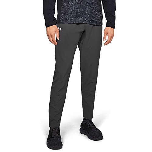 Under Armour Men's Storm Out & Back Pants, Charcoal (019)/Reflective, Large by Under Armour (Image #1)