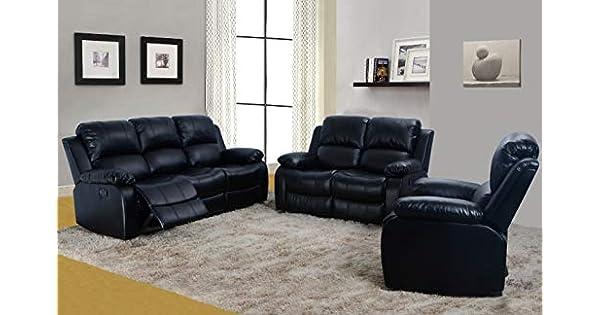 Amazon.com: Lifestyle Furniture Juego de sofá reclinable de ...