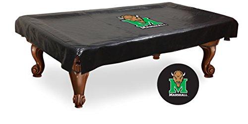 NCAA Marshall Thundering Herd Billiard Table Cover, 8-Feet College Billiard Table Cover