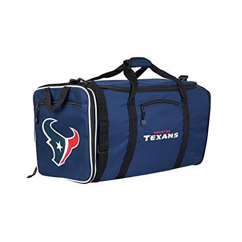 NFL Houston Texans NFL Steal Duffel, Navy, Measures 28'' in Length, 11'' in Width & 12'' in Height by The Northwest Company (Image #1)